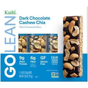 Kashi Go Lean Dark Chocolate Cashew Chia Bars