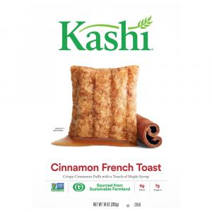 Kashi Cinnamon French Toast Puffs Cereal