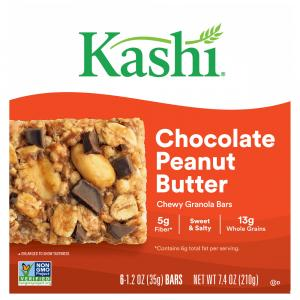 Kashi Chewy Chocolate Peanut Butter Granola Bars