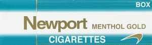 Newport Gold Box Cigarettes