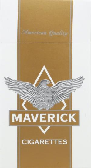 Maverick Gold Box 100's Cigarettes