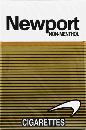 Newport Non Menthol Gold Box Cigarettes