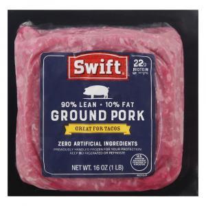 90% Lean Ground Pork