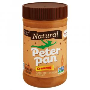 Peter Pan Natural Creamy Peanut Butter