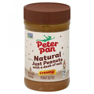 Peter Pan Just Peanuts Creamy Peanut Butter