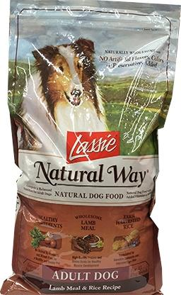 Lassie Lamb Meal and Rice Dog Food