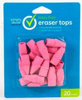 Simply Done Latex Free Eraser Tops