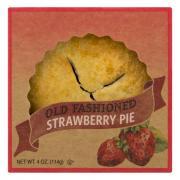 "Old Fashioned 4"" Strawberry Pie"