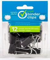 Simply Done Small Binder Clips