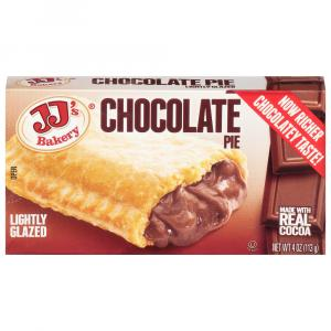 JJ's Bakery Chocolate Pie