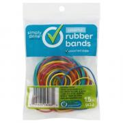 Simply Done Rubber Bands Colored