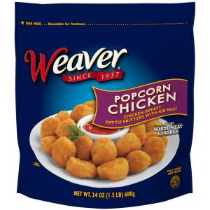 Weaver Popcorn Chicken
