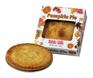 Table Talk Pumpkin Pie