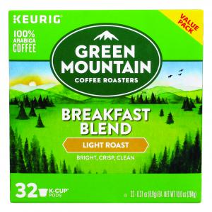 Green Mountain Coffee Breakfast Blend K-cups Value Pack