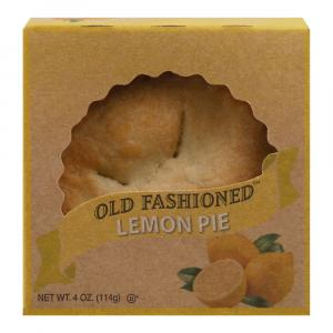 "Old Fashioned 4"" Lemon Pie"
