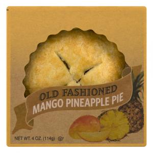 "Old Fashioned 4"" Mango Pineapple Pie"