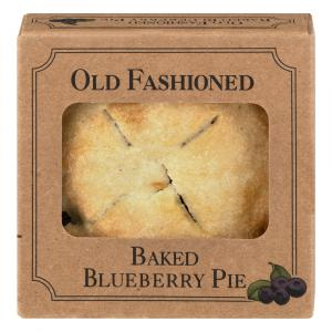 """Old Fashioned 4"""" Blueberry Pie"""