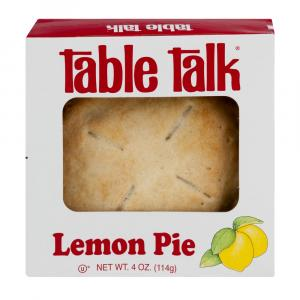 Table Talk Lemon Pie
