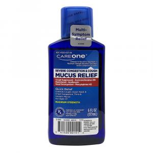 CareOne Maximum Strength Mucus Relief Severe Congestion
