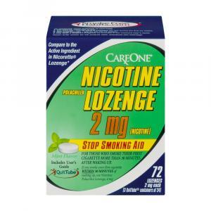 Careone Nicotine Mint Lozenge