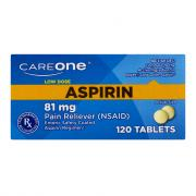 CareOne Low Dose Aspirin 81 mg