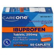 CareOne Ibuprofen Orange Tablets 200mg