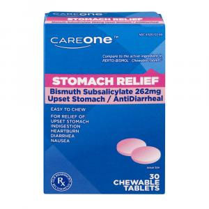 Careone Stomach Relief Chewables