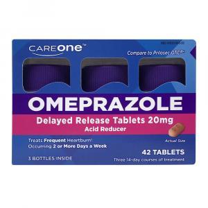 CareOne Acid Reducer Omeprazole Delayed-Release 20mg