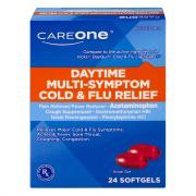 CareOne Daytime Cold & Flu Softgels