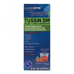 CareOne Adult Tussin DM Max Daytime Cough