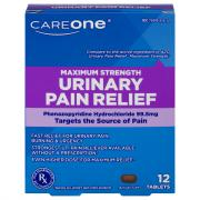 CareOne Maximum Strength Urinary Pain Relief