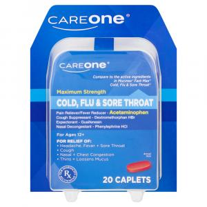 CareOne Mucus Relief Cold Flu & Sore Throat