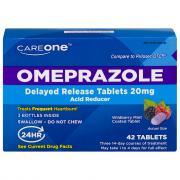 CareOne Omeprazole Wild Berry Delayed Release Tablets