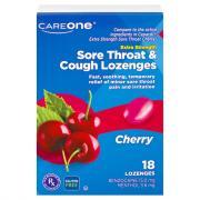 CareOne Sore Throat Lozenges Cherry