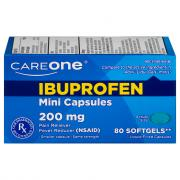 CareOne Ibuprofen Mini Softgel Capsules 200mg