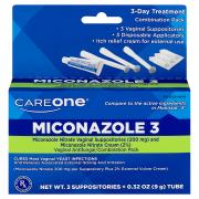CareOne Miconazole 3 Combination Pack