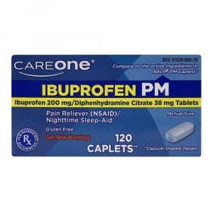 Careone Ibuprophen Pm Caplets