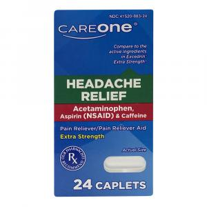 CareOne Headache Relief Caplets