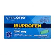 CareOne Ibuprofen Softgels 200 mg
