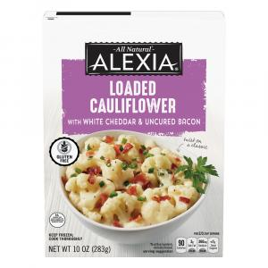 Alexia Loaded Cauliflower with White Cheddar & Uncured Bacon