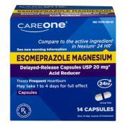 CareOne Esomeprazole Magnesium Acid Reducer 20 mg