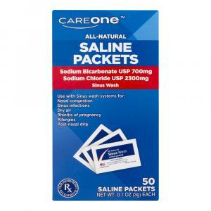 CareOne Saline Packets