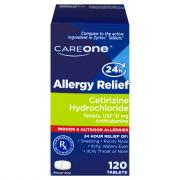 CareOne Cetirizine 10mg Allergy Relief Tablets