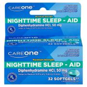 CareOne Sleep-Aid Softgels 200 mg