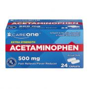 CareOne Extra Strength Acetaminophen 500mg Caplets