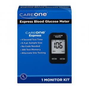 CareOne Express Blood Glucose Meter