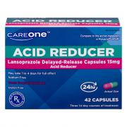 CareOne Acid Reducer Lansprazole Delayed-Release Capsules