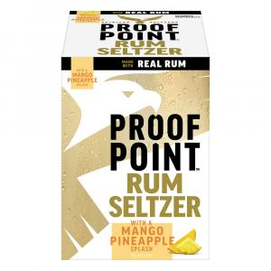 Proof Point Rum Seltzer Mango Pineapple
