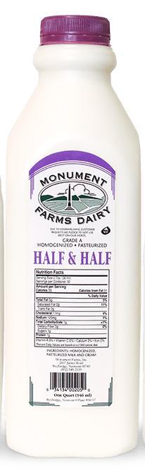 Monument Farm Half & Half