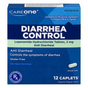 Careone Diarrrea Control Lopermide Hydochloride Tablets